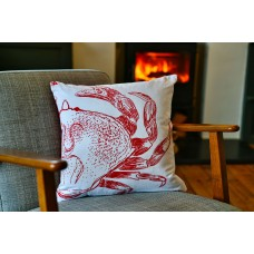 Beautifully Handcrafted in Cornwall Curtis the Crab Cushion