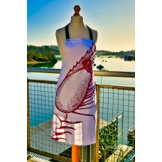 Beautifully Handcrafted in Cornwall Sally the Shrimp Apron