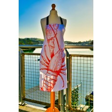 Beautifully Handcrafted in Cornwall Larry the Lobster Apron