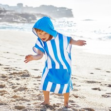 Dock and Bay Child's Quick Dry Stripe Poncho's