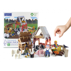 PlayPress Eco Farm Play Set